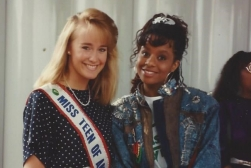 MTOA 1987-88 Jennifer Steele with Tempest Bledsoe