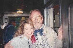 MTOA 1992-93 Macy Jarrett with Chuck Jones, animator of Bugs Bunny