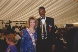 MTOA 1992-93 Macy Jarrett with Dr. J, Julius Erving
