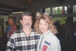 MTOA 1992-93 Macy Jarrett with George Lucas
