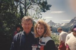 MTOA 1992-93 Macy Jarrett with John Young, astronaut